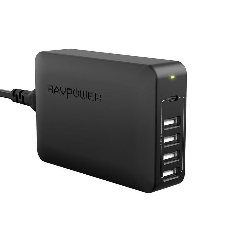 RavPower 60W 5-Port USB Wall Charger
