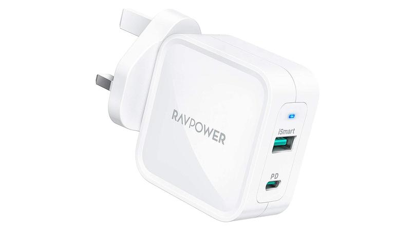 RavPower PD Pioneer 65W 2-Port Wall Charger