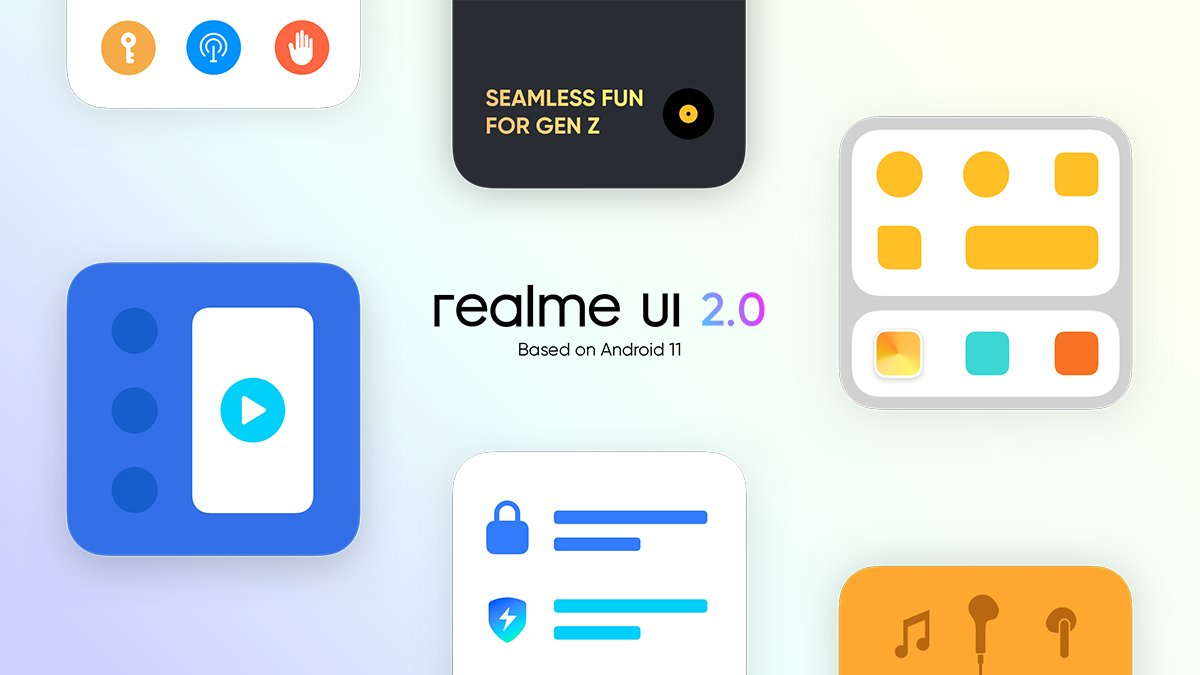 realme UI 2.0 Android 11 Logo Featured