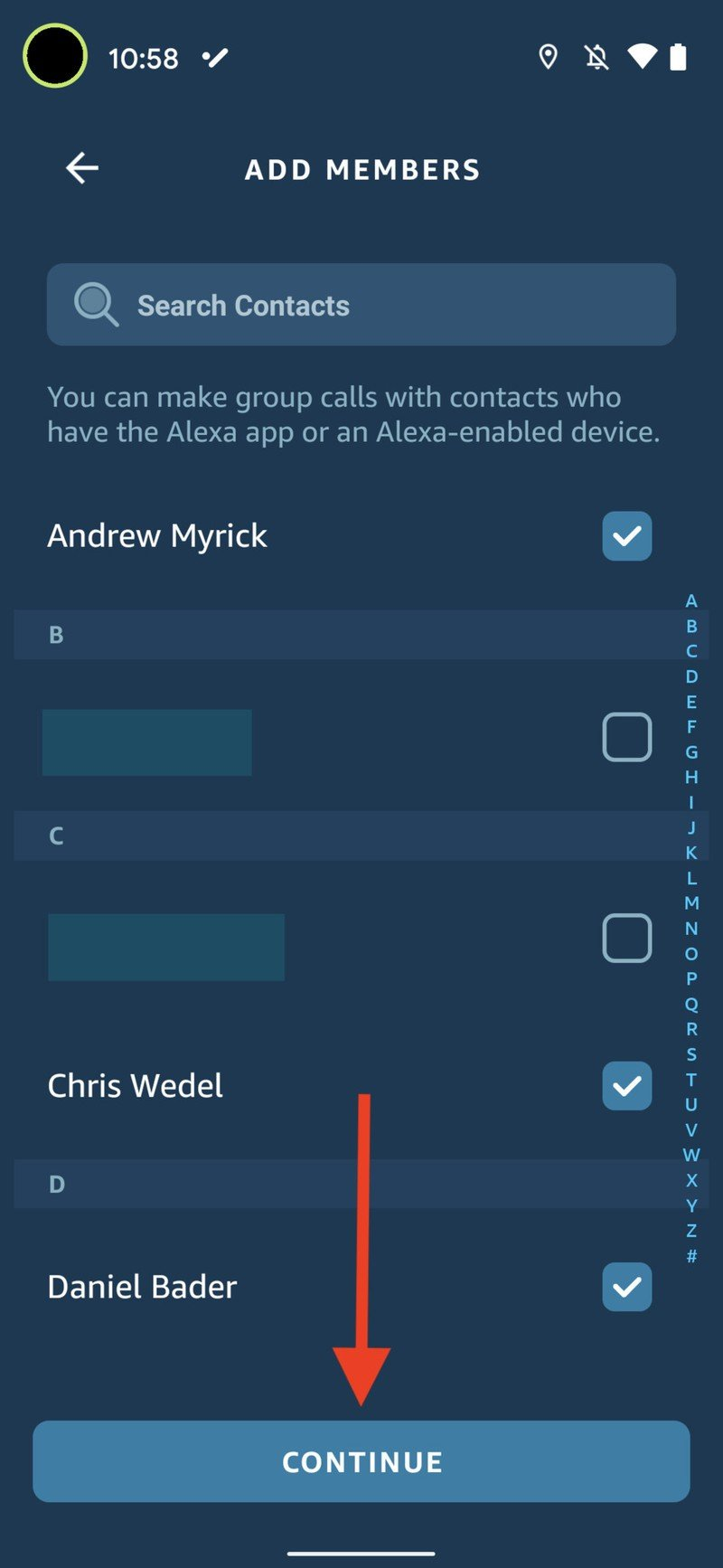 Alexa Group Calling 6