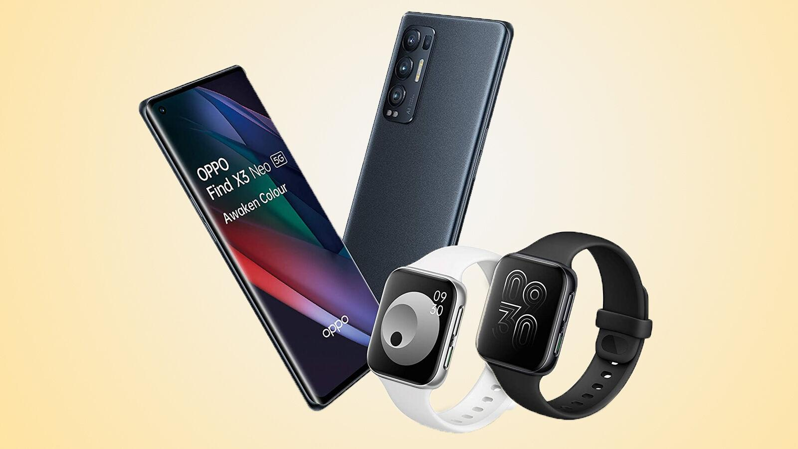 Oppo Find X3 Neo gifts