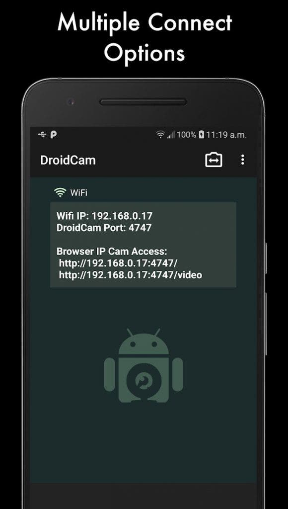 DroidCam - best free Android apps