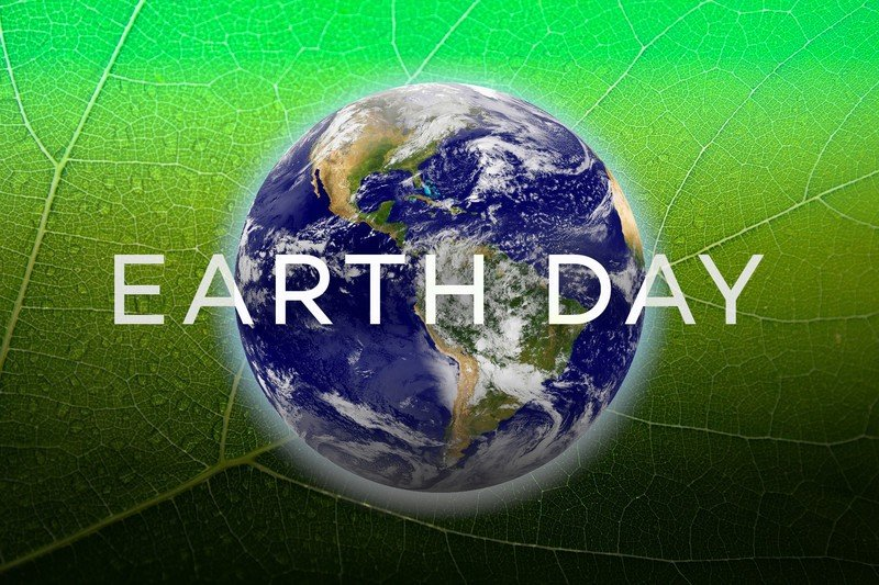 Earth Day Hero Graphic