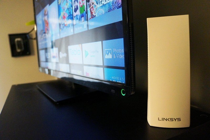 Linksys Velop Tri-band with TV