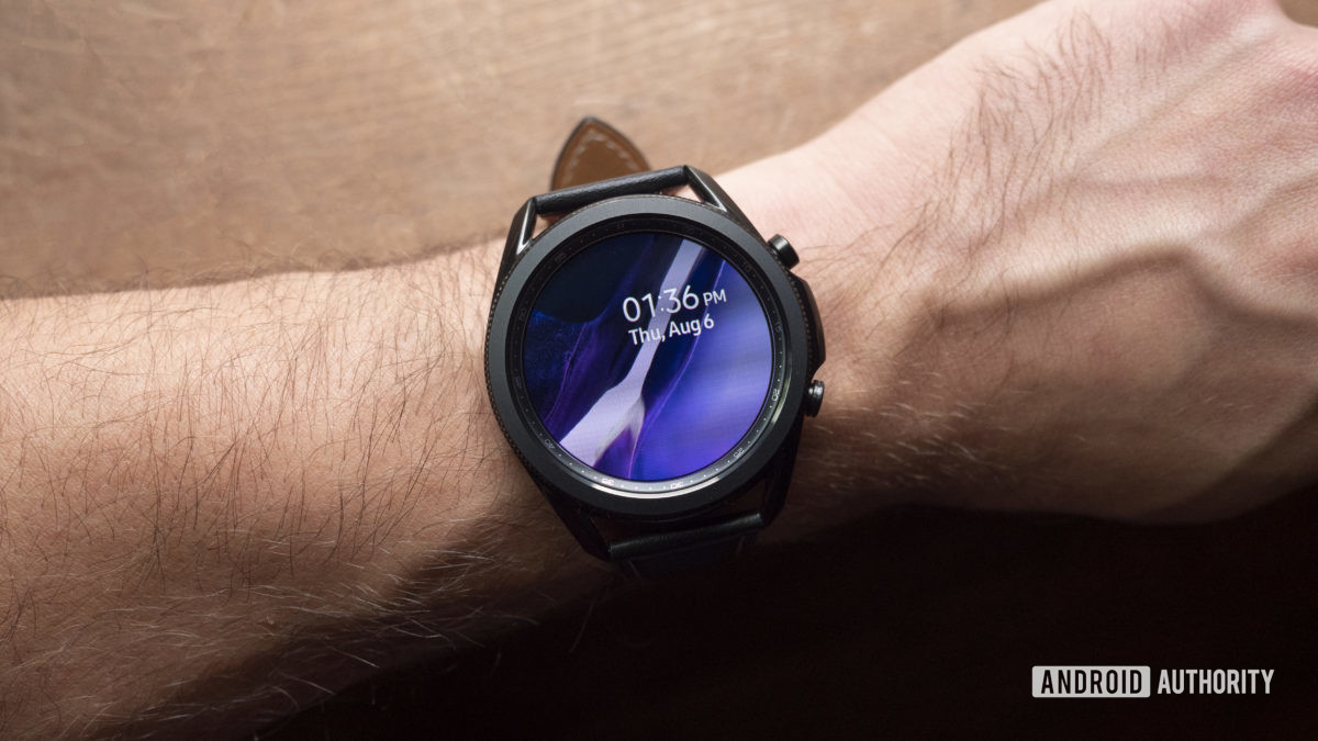 samsung galaxy watch 3 review display watch face 2