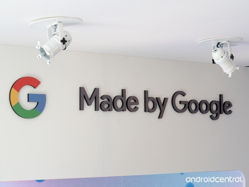 Made by Google logo at CES 2018