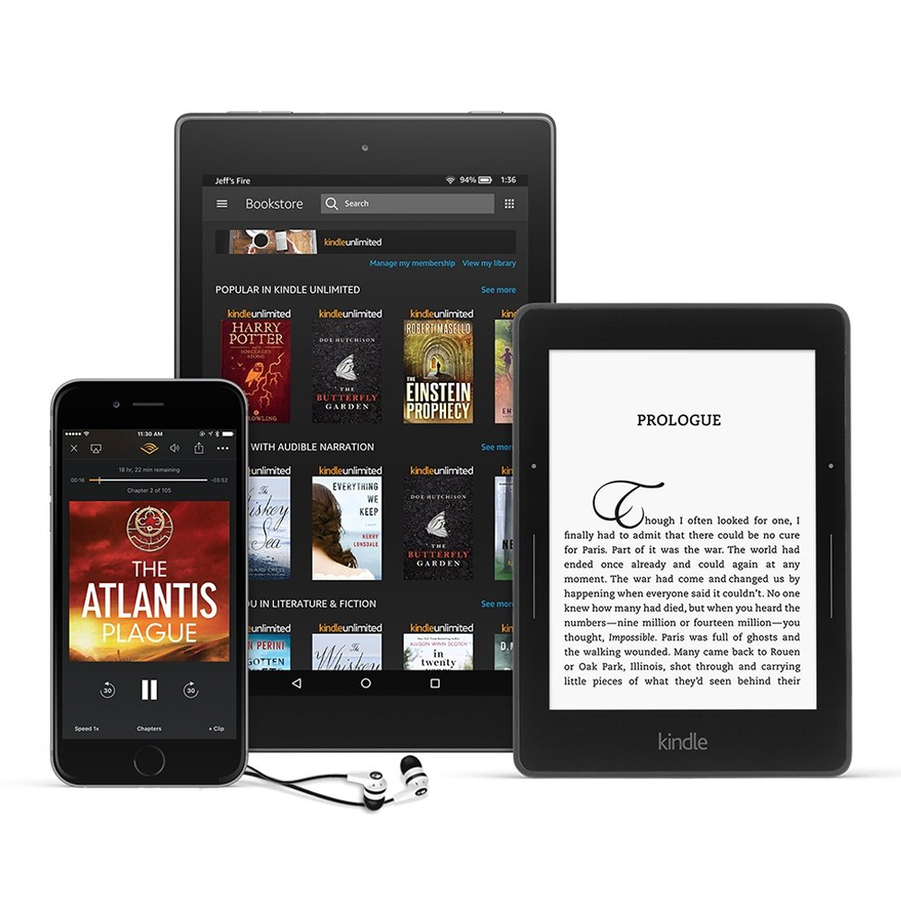 Kindle Unlimited devices