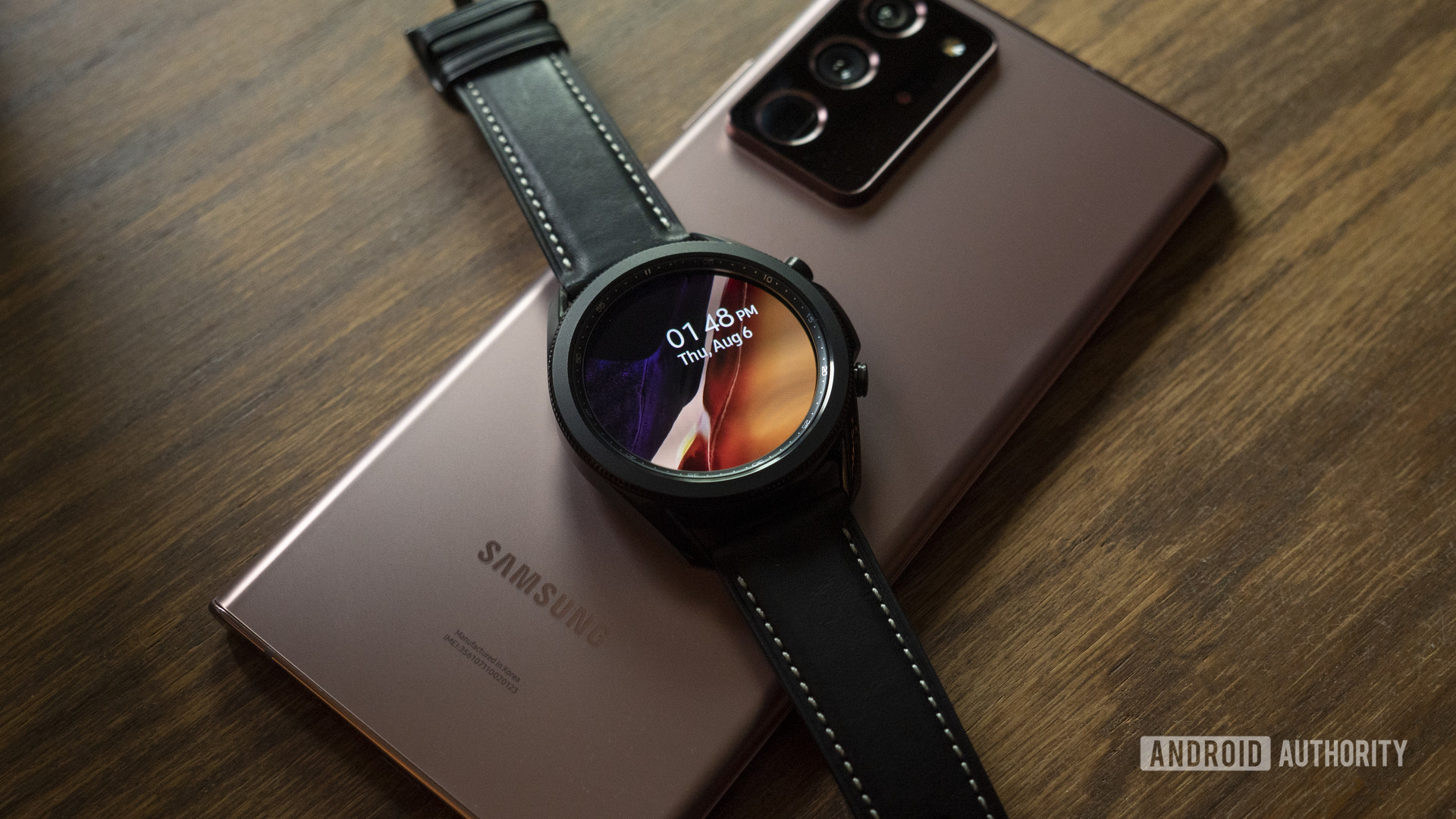 samsung galaxy watch 3 review with samsung galaxy note 20 ultra