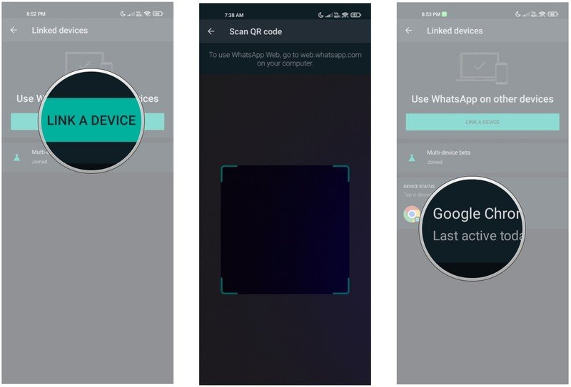 How to sign up for WhatsApp multi-device