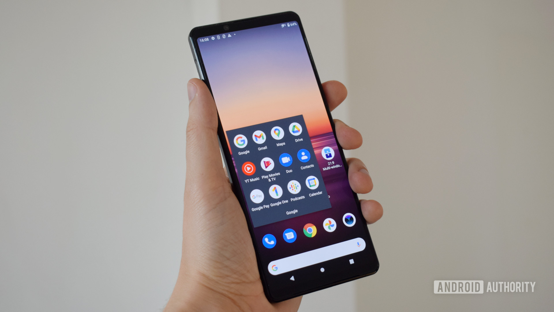 Sony Xperia 1 II review 1 year front