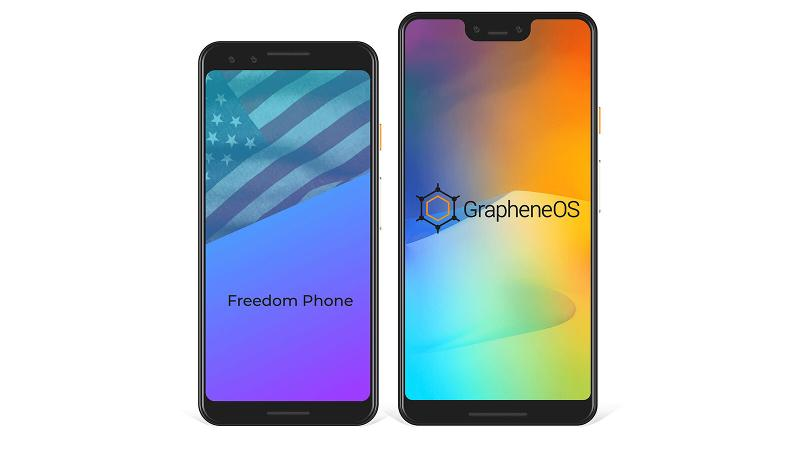 Freedom Phones with GrapheneOS