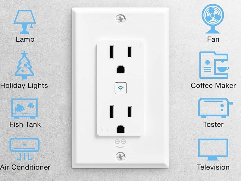 Geeni Smart Wifi Outlet Lifestyle