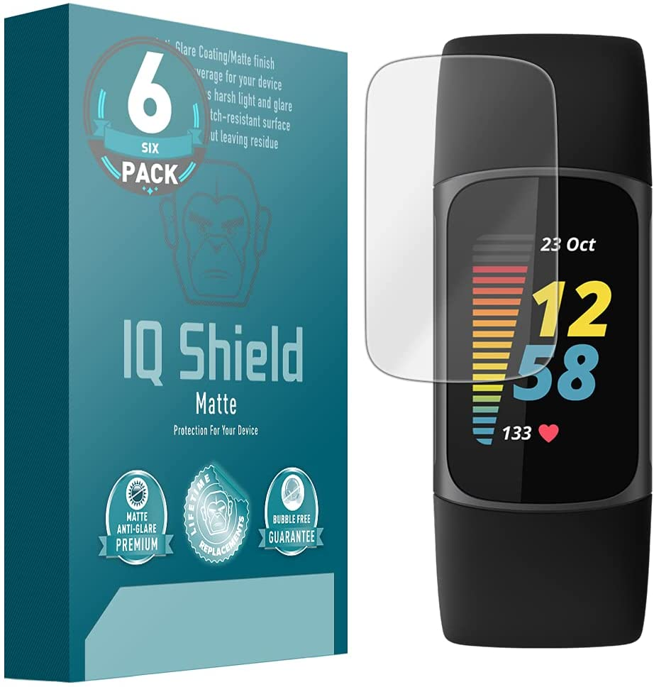 Iqshield Fitbit Charge 5 Screen Protector